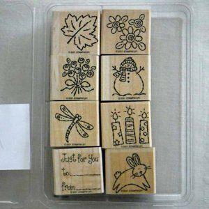Stampin' Up! Tags & More Stamp Set Set - New